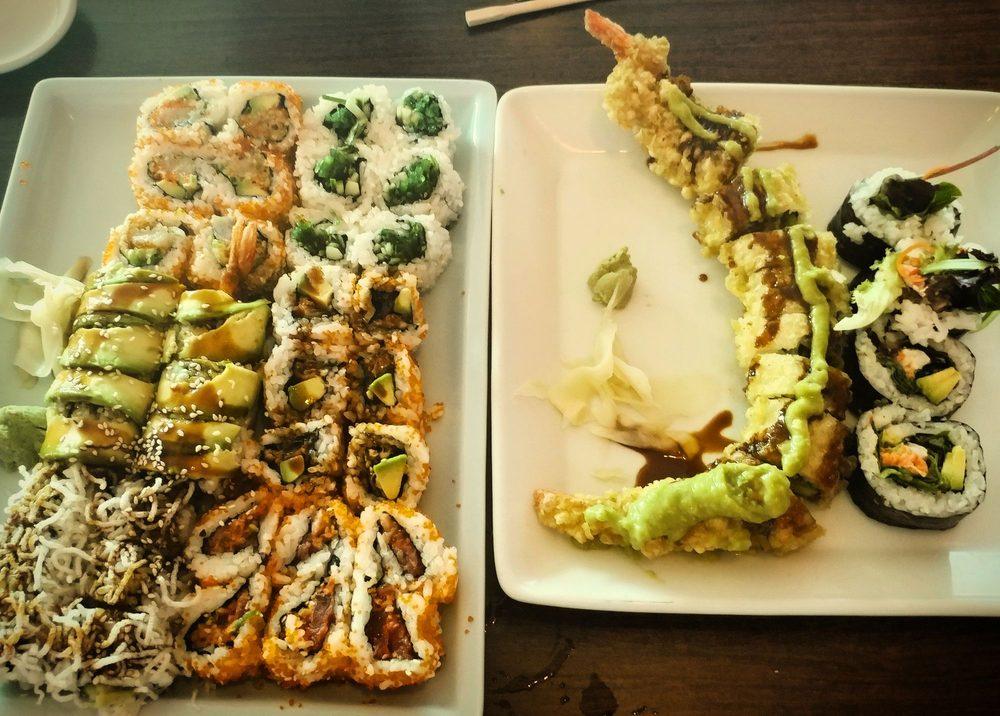 Food from Yoshi Japanese Restaurant