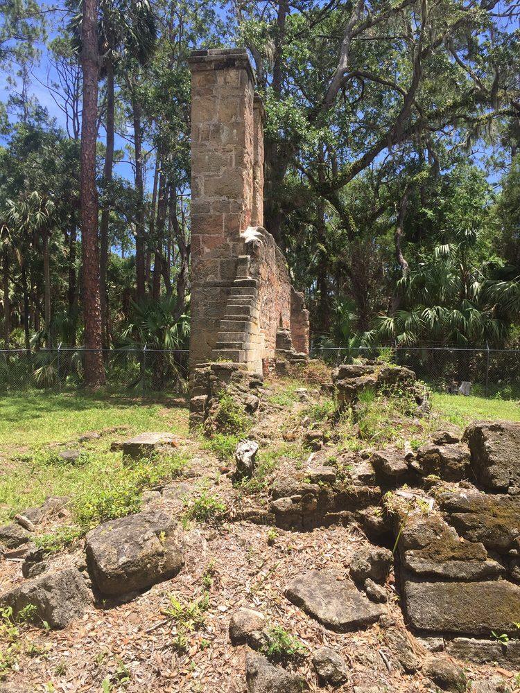 Dummett Sugar and Rum Factory Ruins