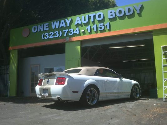 One Way Auto >> One Way Auto Body 2917 W Jefferson Blvd Los Angeles Ca Auto Body