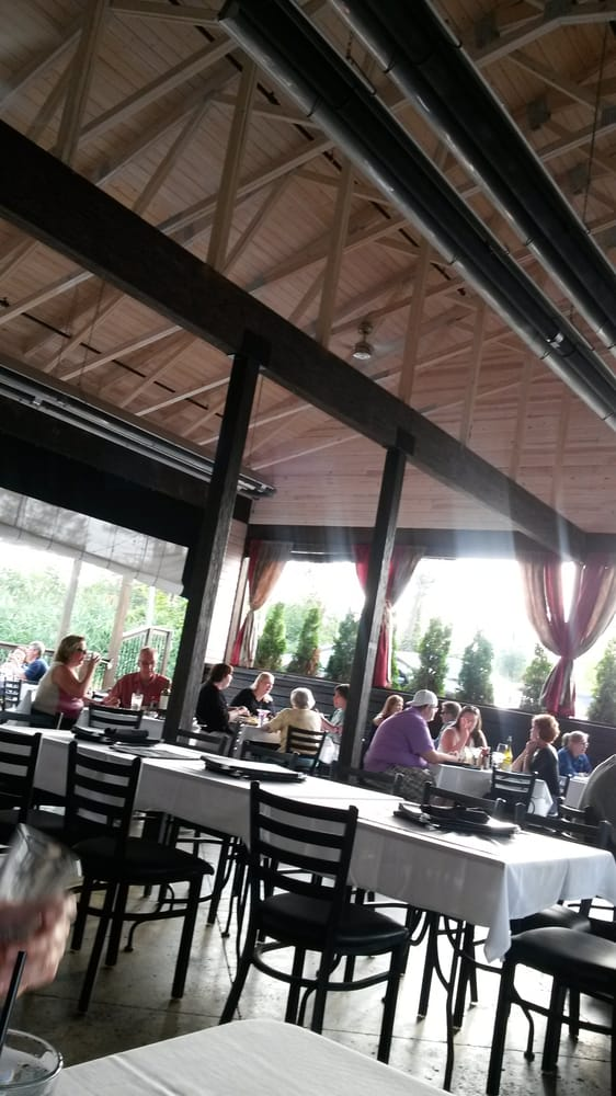 Large outdoor patio at the Uptown Grille. - Yelp