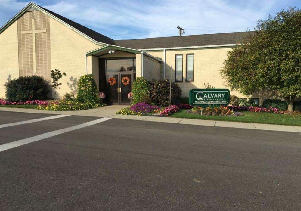 Calvary Baptist Church: 245 S 6th St, Byesville, OH