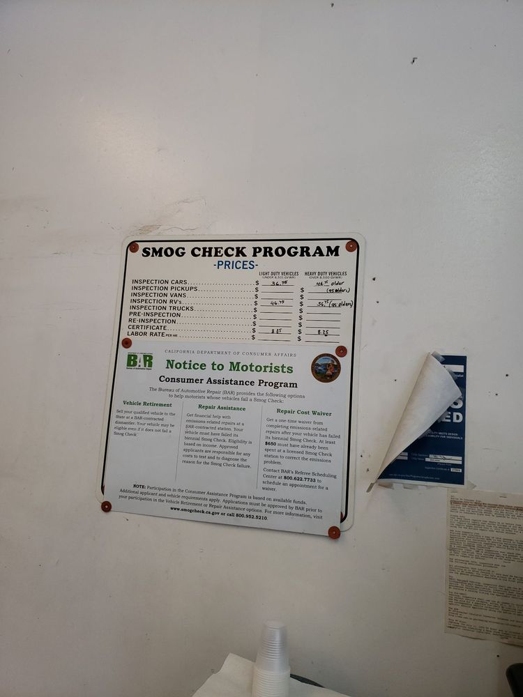 Loma Linda Smog Check: 25153 Redlands Blvd, Loma Linda, CA