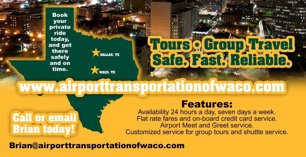 Airport Transportation Of Waco: 4800 W Waco Dr, Waco, TX