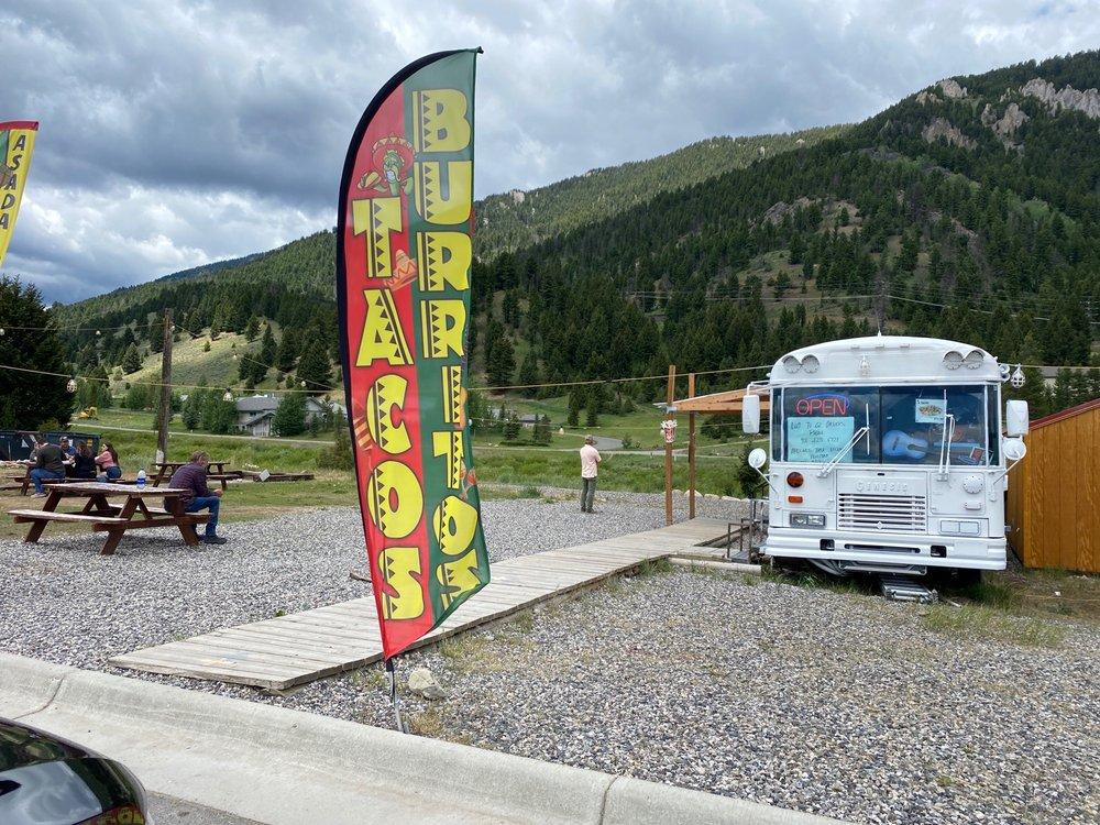 Mi Pueblito Taco Bus: 1565 Lone Mountain Trl, Big Sky, MT
