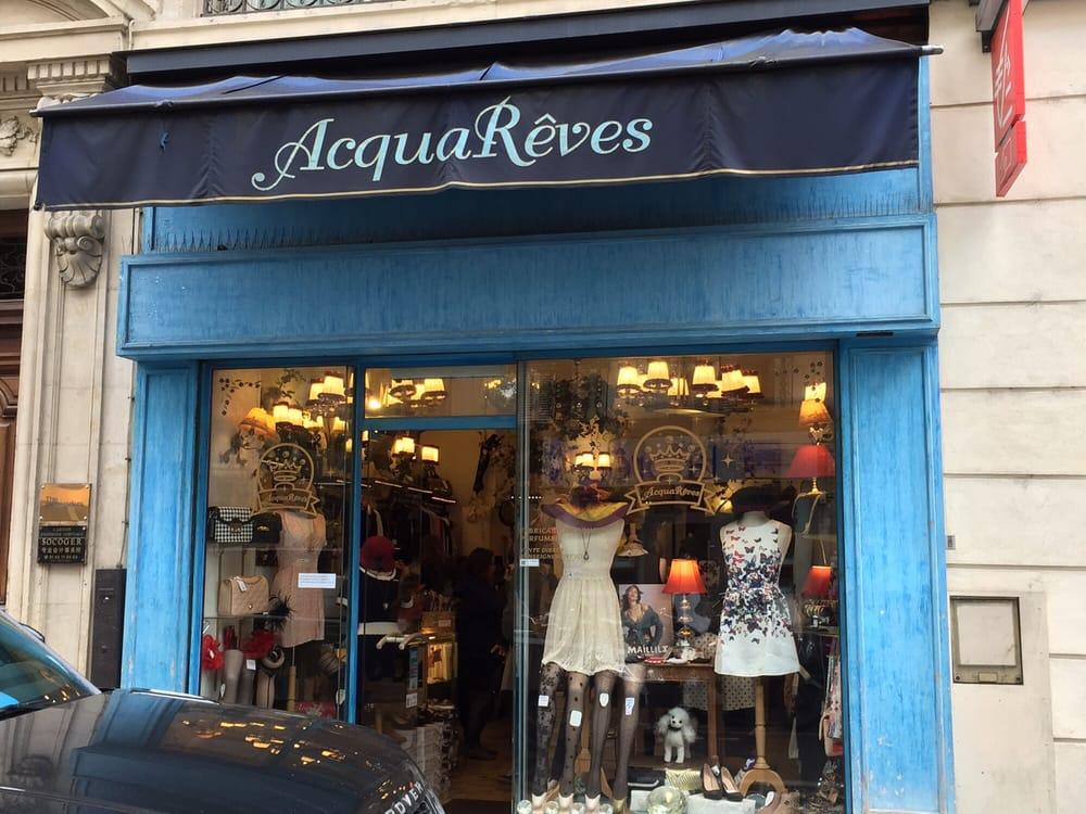 Acqua r ves chiuso abbigliamento femminile 16 rue rambuteau beaubourg parigi paris - Rue rambuteau paris ...