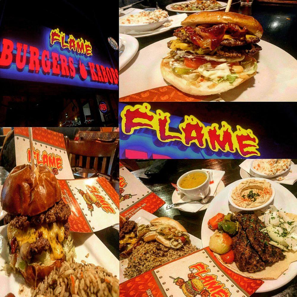 Flame Burger & Kabobs: 5808 Schaefer Rd, Dearborn, MI