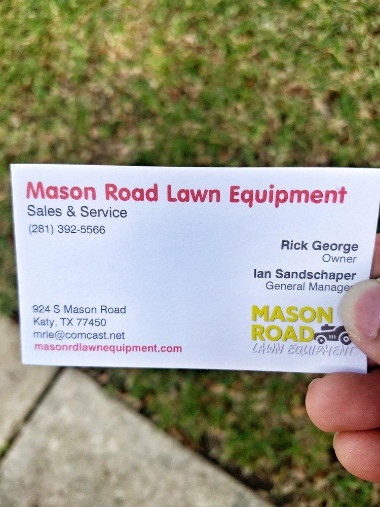 Mason Road Lawn Equipment: 924 S Mason Rd, Katy, TX