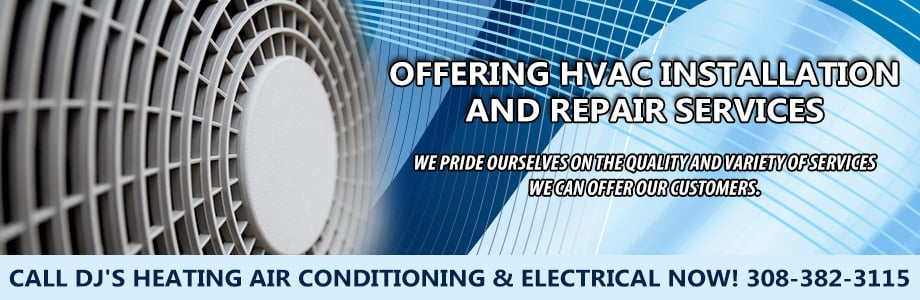 DJ's Heating Air Conditioning & Electrical