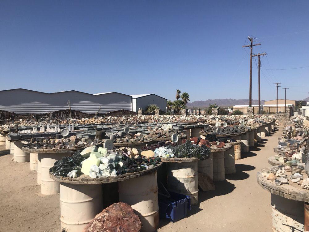 T Rocks: 1530 W Main St, Quartzsite, AZ