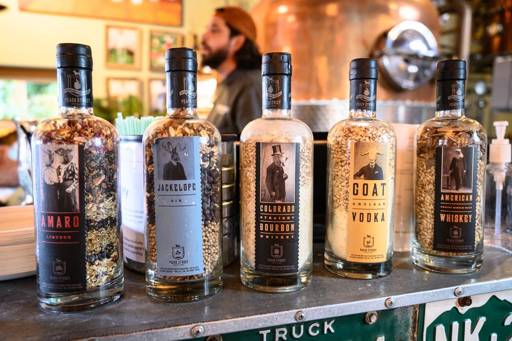 Peach Street Distillers: 144 S Kluge Ave, Palisade, CO