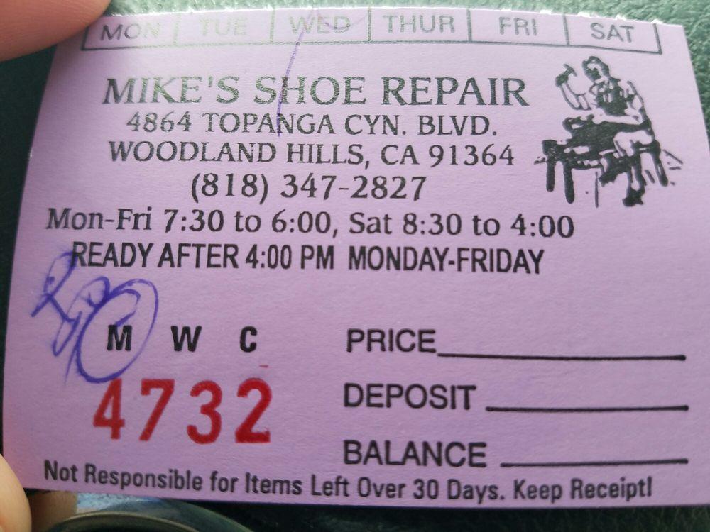 Mikes Shoe Repair