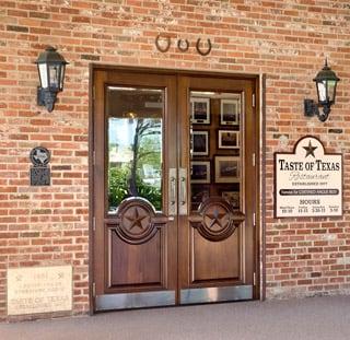 Photo of Bison Building - Rosenberg TX United States. Restaurant Doors Commercial & Bison Building - Building Supplies - 235 Benton Rd Rosenberg TX ... pezcame.com