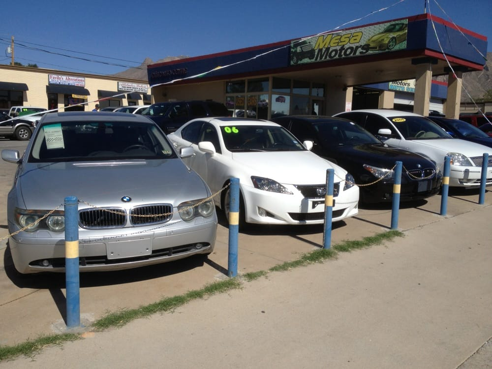 El Paso Car Dealerships >> Mesa Motors Car Dealers 6354 N Mesa El Paso Tx Phone Number