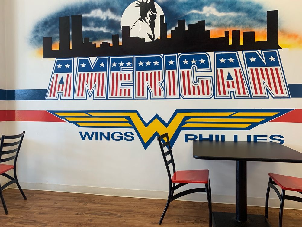 Philadelphia Wings & Philly: 204 S Lewis Ave, Philadelphia, MS