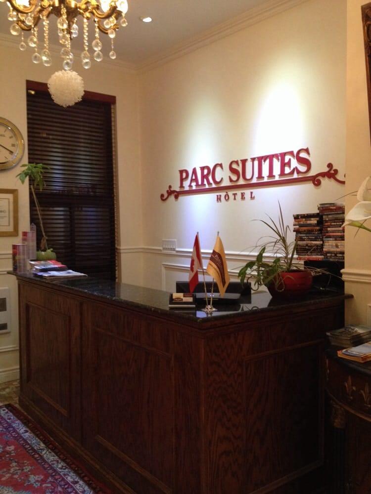 Parc suites hotels 3463 du parc avenue plateau mont for Hotel parc aquatique interieur quebec