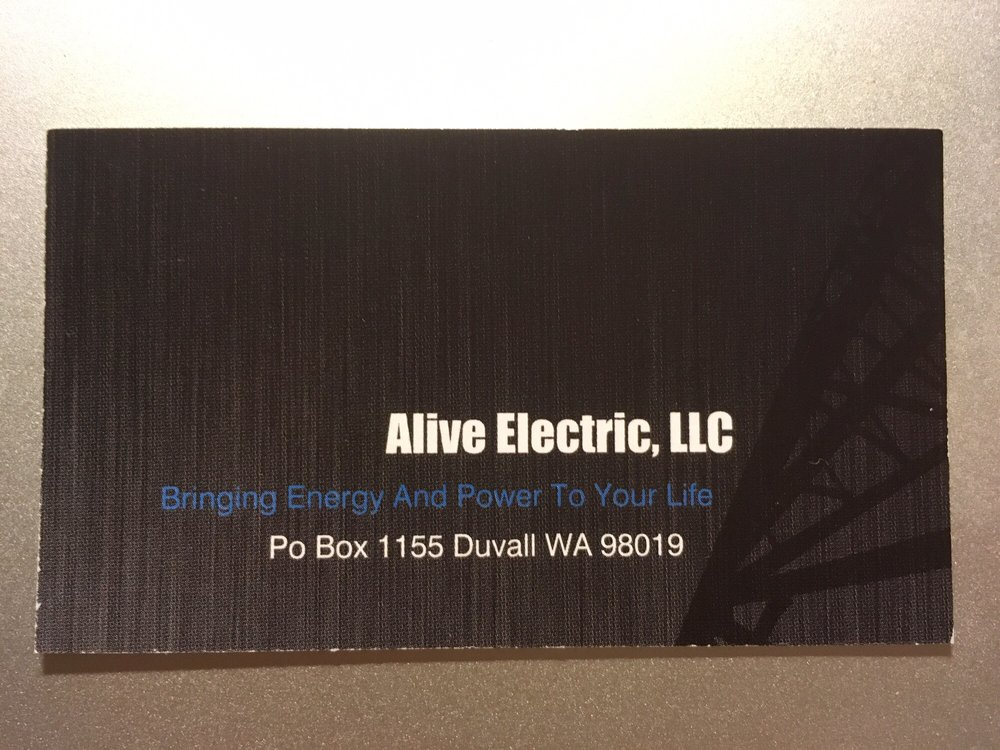 Alive Electric: Duvall, WA