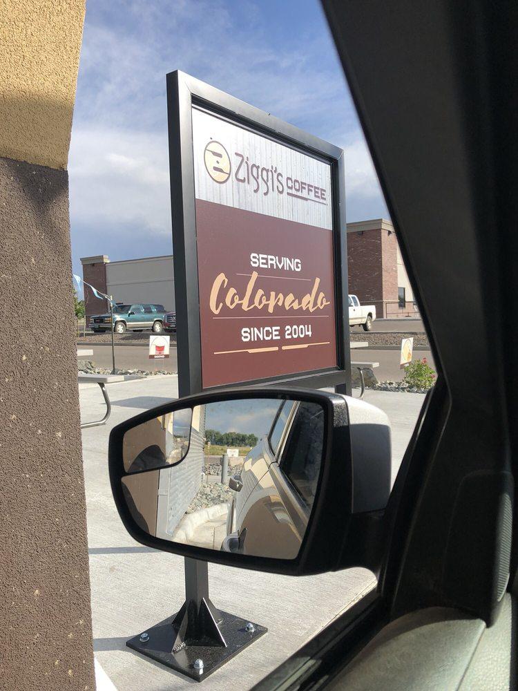 Ziggi's Coffee: 21900 I-76 Frontage Rd N, Hudson, CO