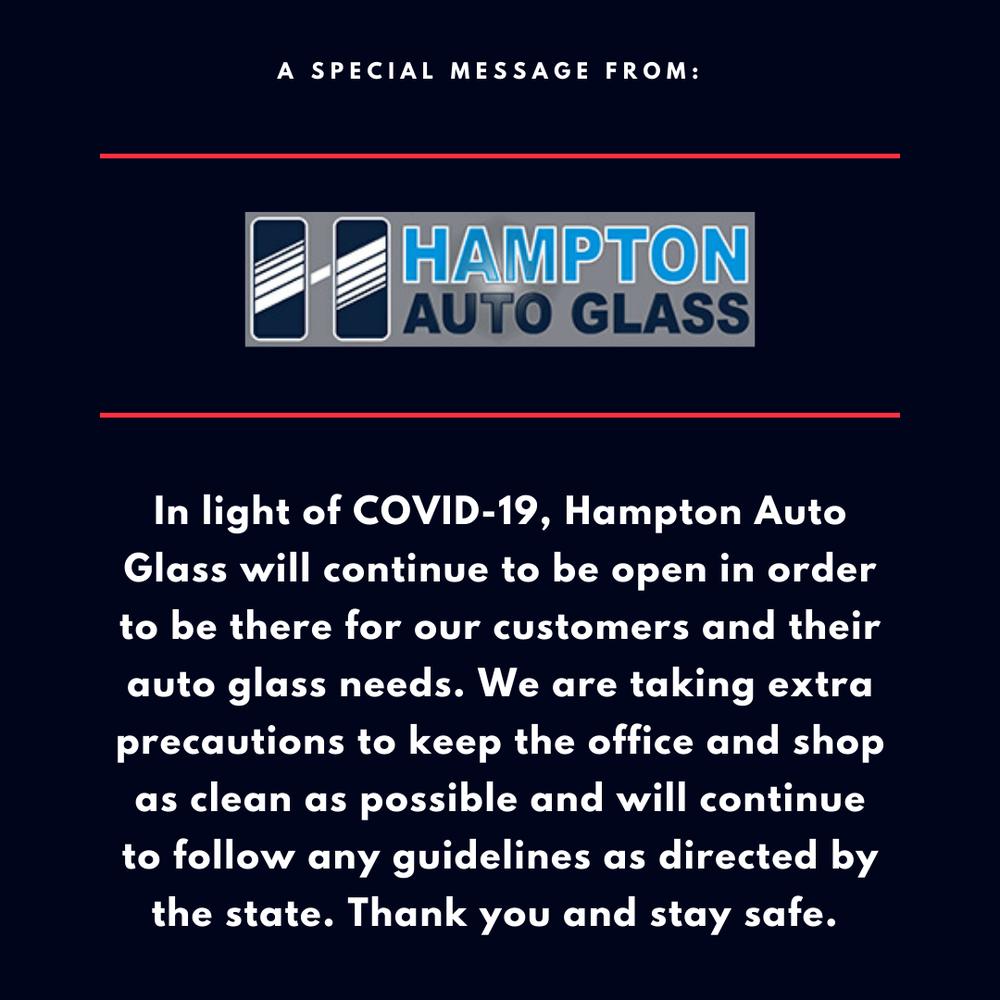 Hampton Auto Glass: 11214 NE Highway 99, Vancouver, WA