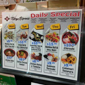 Tokyo Express Restaurant San Francisco Ca
