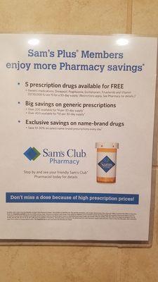 sams club prescriptions