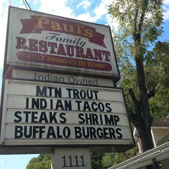 Photo Of Paul S Family Restaurant Cherokee Nc United States