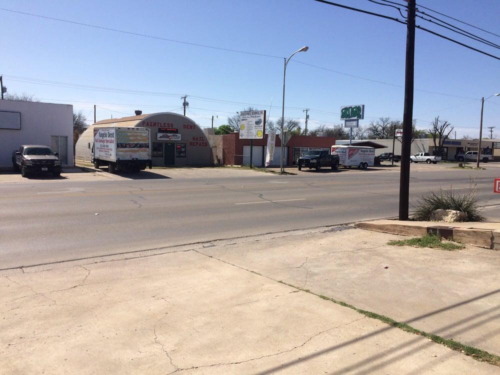 Angelo Dent Removal: 2315 Sherwood Way, San Angelo, TX