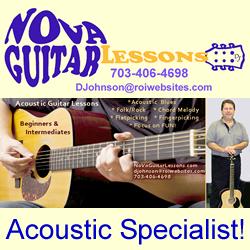 Nova Guitar Lessons: 6 pidgeon hill dr, Sterling, VA