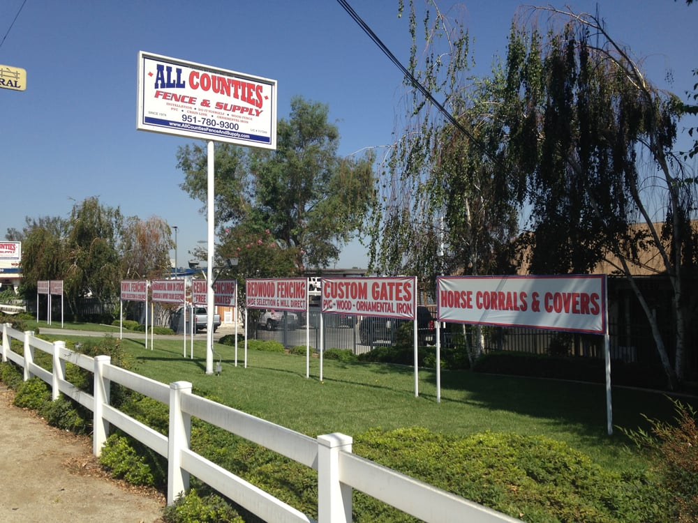 All Counties Fence And Supply Fences Amp Gates Riverside