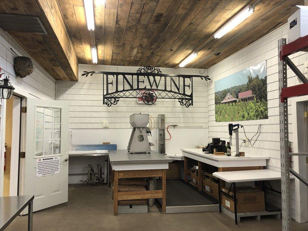 Woodmill Winery: 1350 Woodmill Winery Ln, Vale, NC