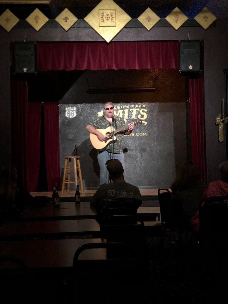 Mason City Limits Comedy Club: 114 E Chestnut St, Mason City, IL