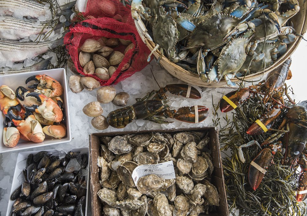 Ivy City Seafood Market and Raw Bar: 1356 Okie St NE, Washington, DC, DC