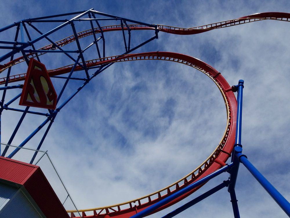 98 P Os For Six Flags Discovery Kingdom Parking Lot