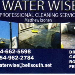 Photo Of Water Wise Pressure Cleaning Hollywood Fl United States