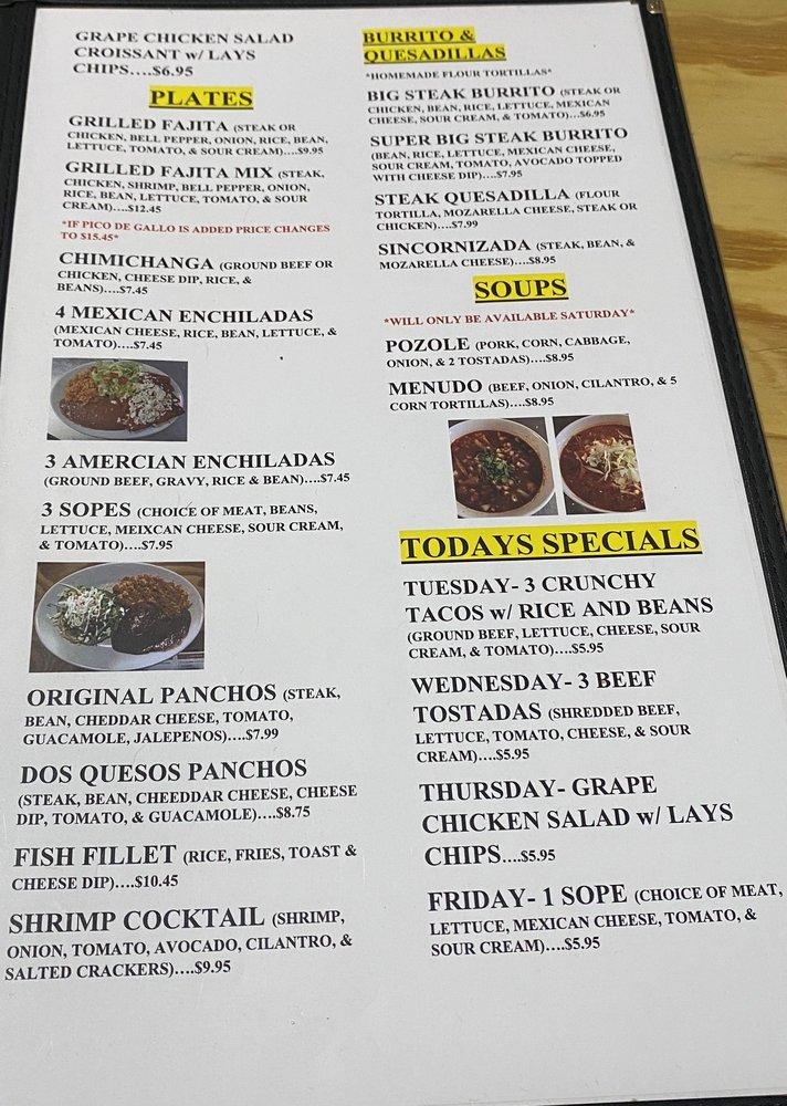 Cafe Tula Taqueria: 106 Commercial St NE, Hanceville, AL