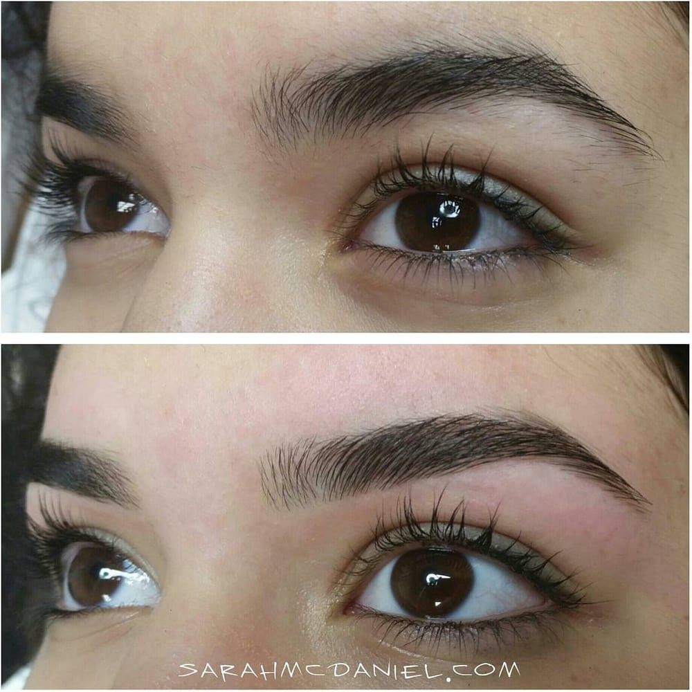 Before And After Brow Waxing In Oklahoma City Oklahoma Yelp