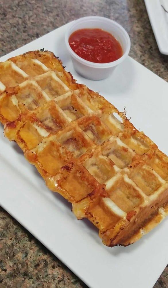 Pepperoni Panini Waffle! - Yelp