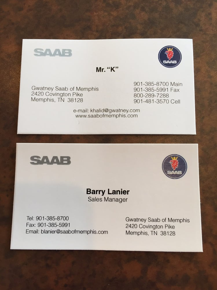 Saab of Memphis - Car Dealers - 2420 Covington Pike, Raleigh ...