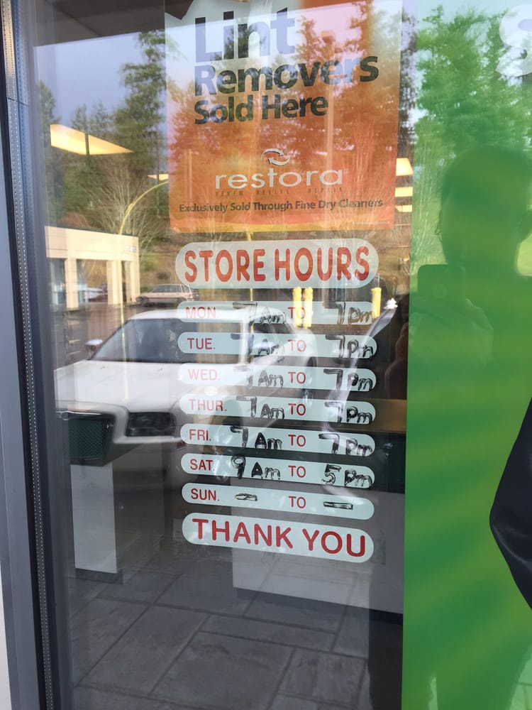 9e4730fa6f3 Store Hours (7AM - 7PM Monday through Friday