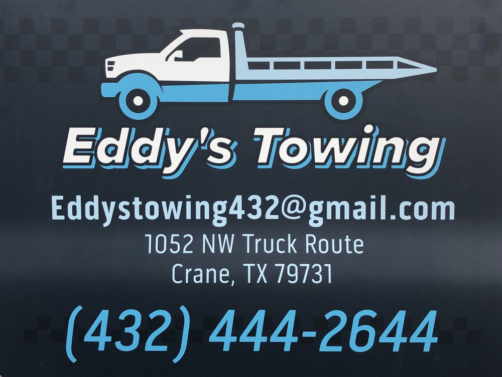 Eddy's Towing: 1052 NW Truck Rte, Crane, TX