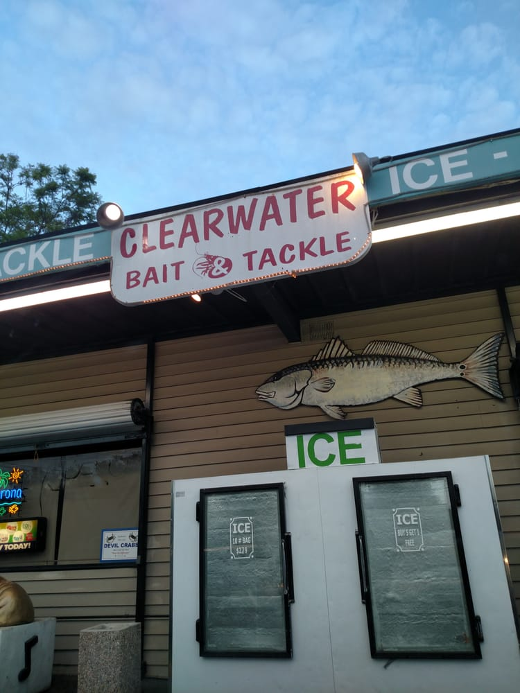 Clearwater bait tackle convenience stores 2999 gulf for Fishing bait stores near me