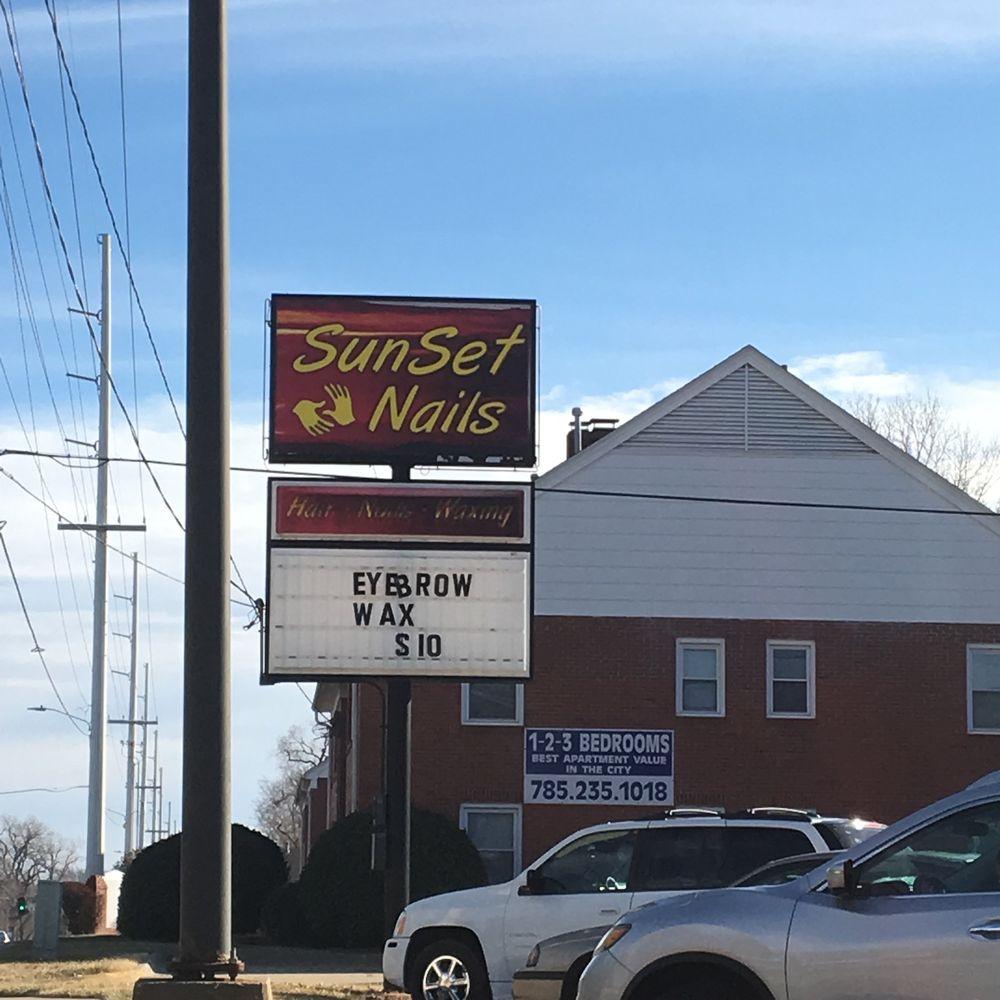 SunSet Nails & Spa: 2603 SW 21st St, Topeka, KS