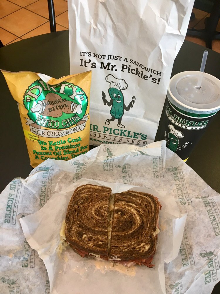Mr. Pickle's Sandwich Shop: 3200 Folsom Blvd, Sacramento, CA