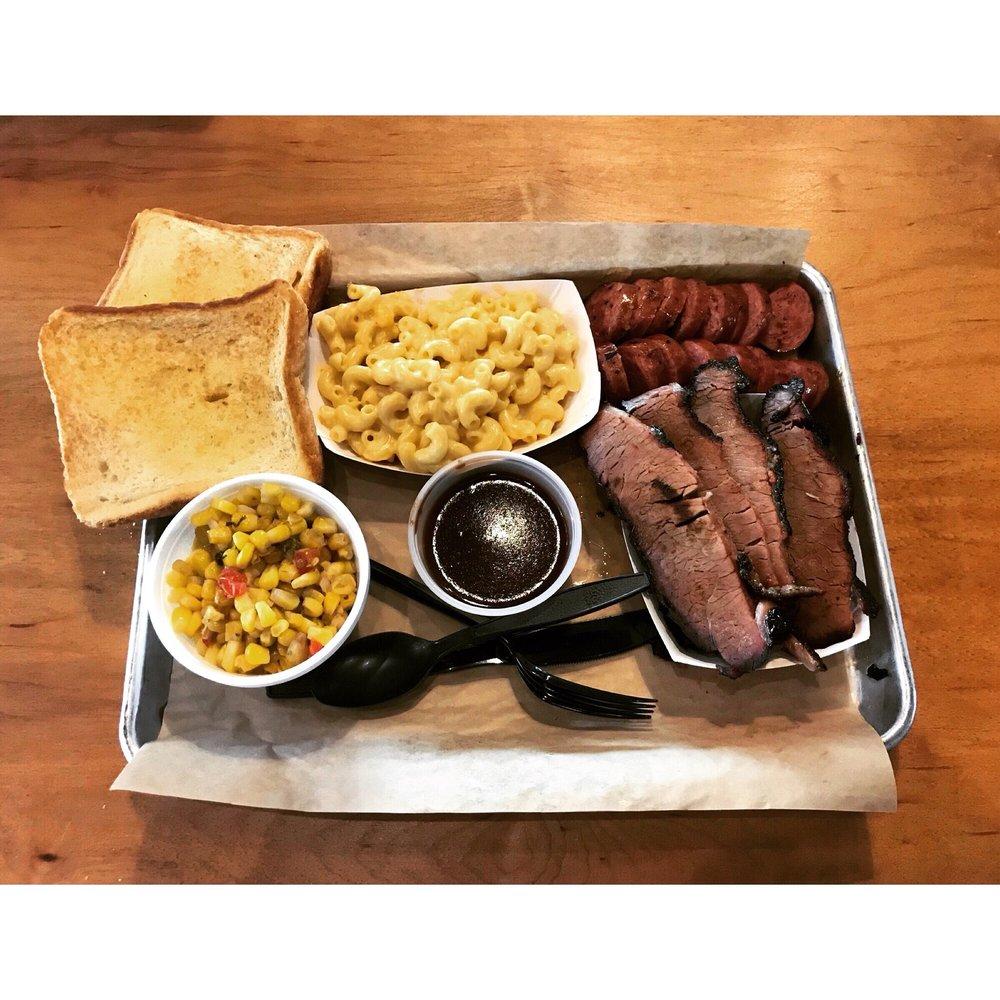 Roscoe's Smokehouse: 134 S Main St, Keller, TX