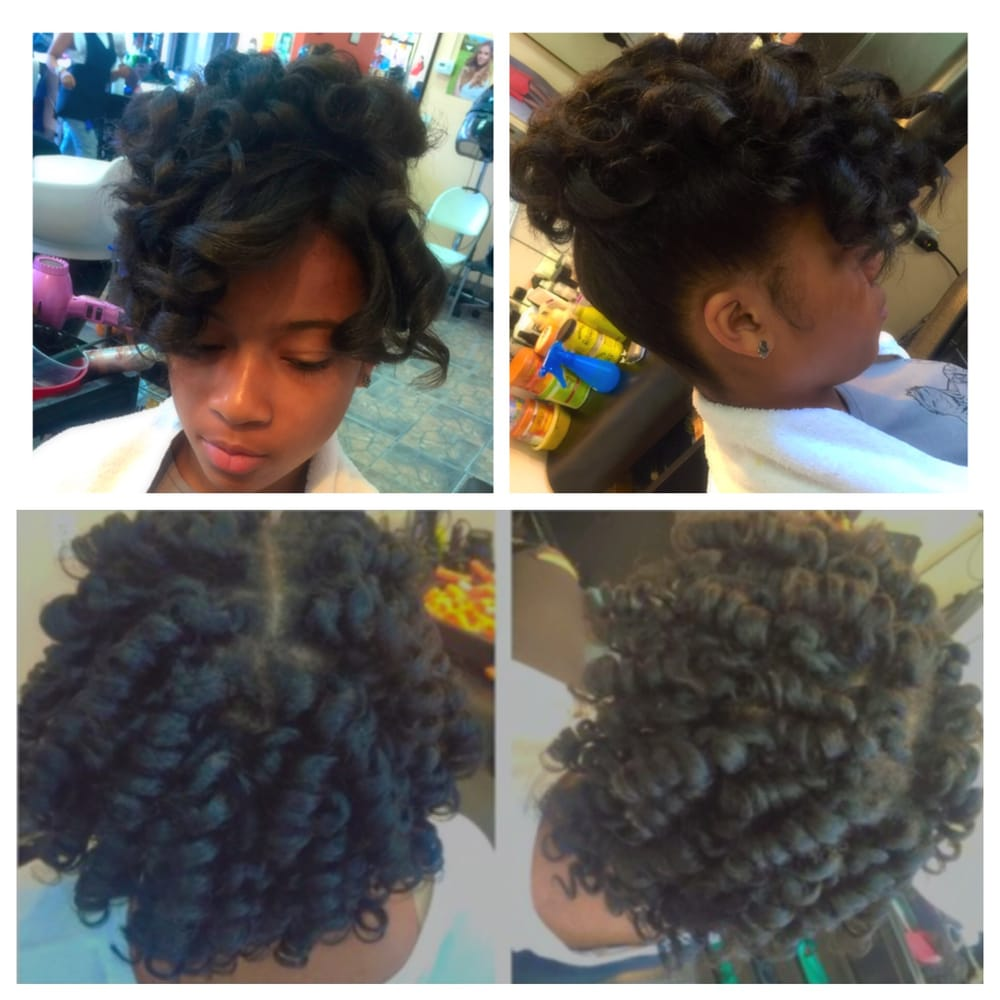 Prom Style & Natural Perm Rod Set