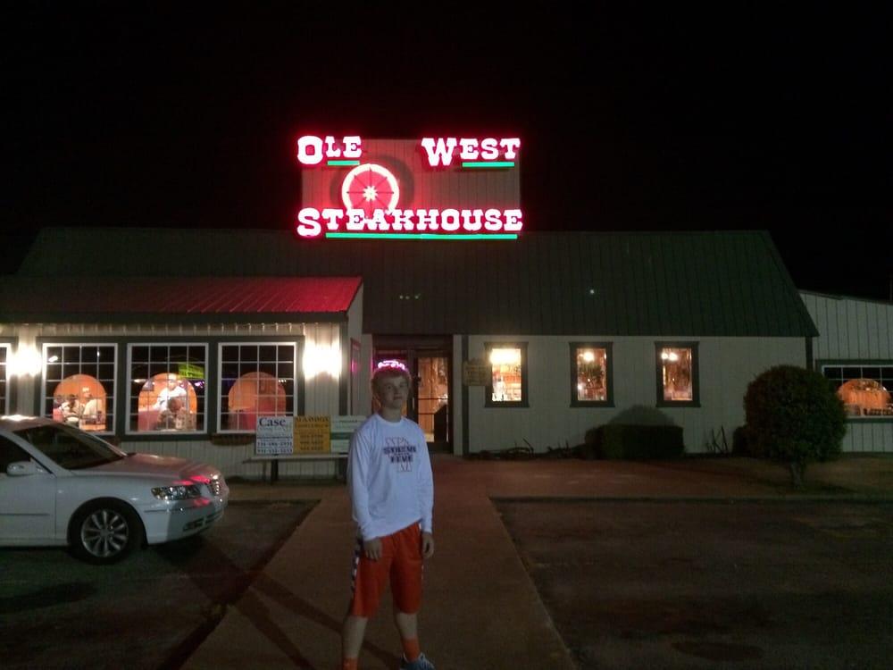 Old West Steakhouse: 15895 Highland Dr, Mckenzie, TN