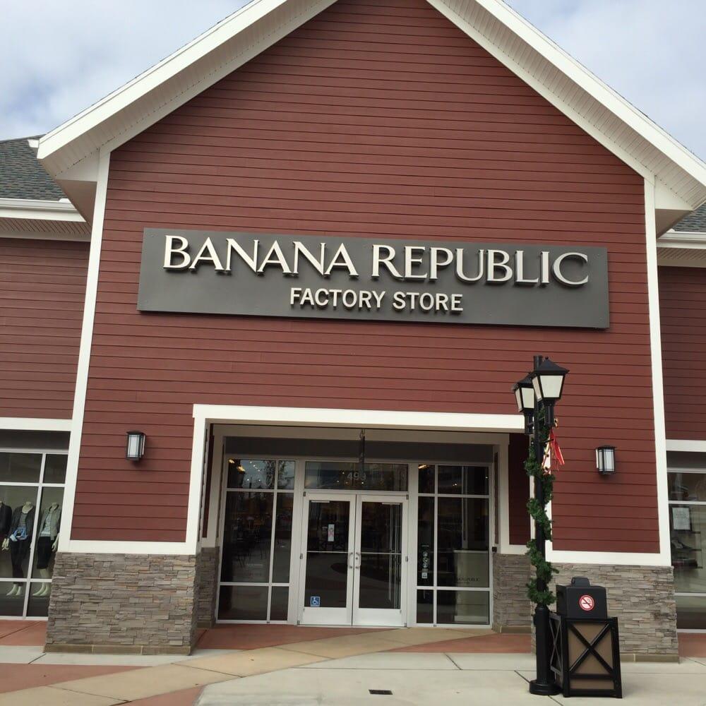 Banana Republic: 80 Premium Outlets Blvd, Merrimack, NH
