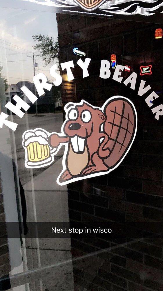 Thirsty Beaver Bar: 500 Madison St, Beaver Dam, WI