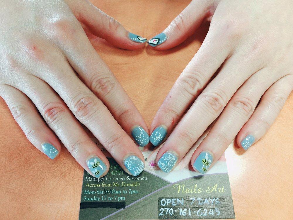 Nails Art 10 Reviews Nail Salons 112 N 12th St Murray Ky
