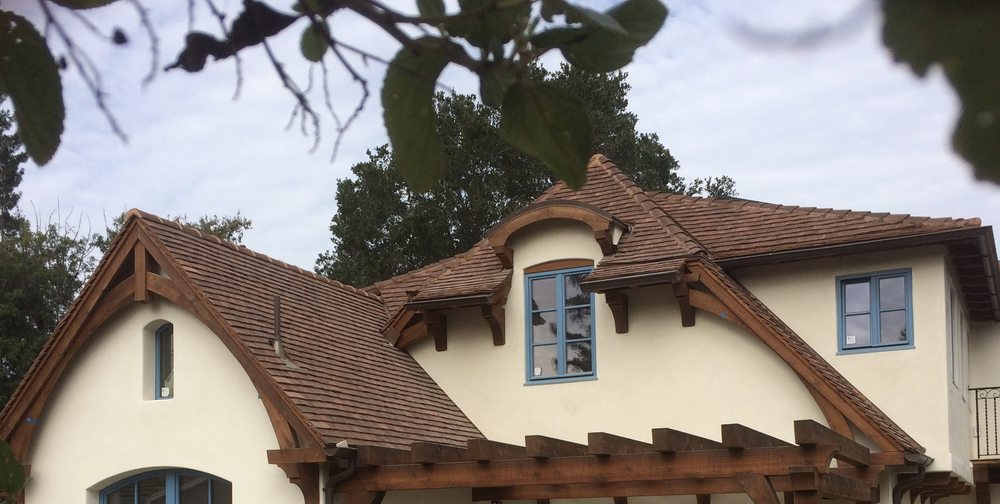 Natural Slate Roofing: 550 Marineview Ave, Belmont, CA