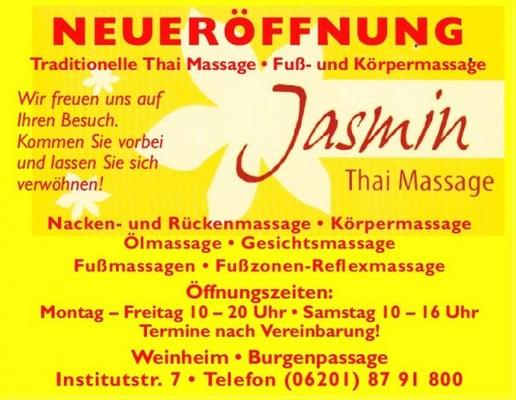 Thai massage weinheim